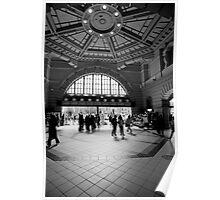 Flinders Street Station Interior, Melbourne, Victoria Poster