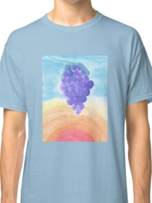 Grapes During a Hot Summer Day Classic T-Shirt