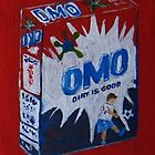 Omo Washing Powder by Sonja Peacock