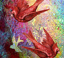 CARDINAL FLIGHT by Tammera