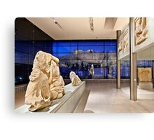 The New Acropolis Museum Canvas Print