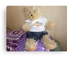 Buffy Bear - a ragged look is the fashion* Canvas Print