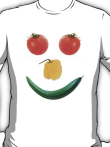 Smiley salad face T-Shirt