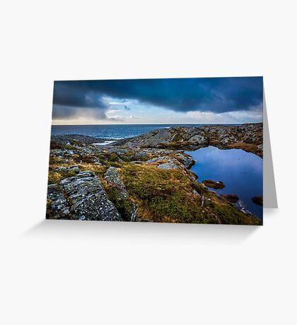 North sea beach Greeting Card
