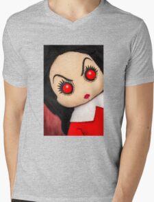 Evil Rag Doll Mens V-Neck T-Shirt