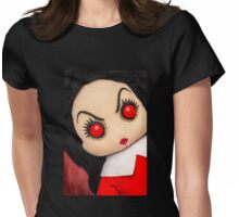 Evil Rag Doll Womens Fitted T-Shirt