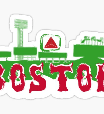 Boston Red Sox Fenway Park Sticker