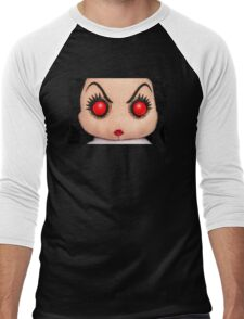 Evil Rag Doll Men's Baseball ¾ T-Shirt
