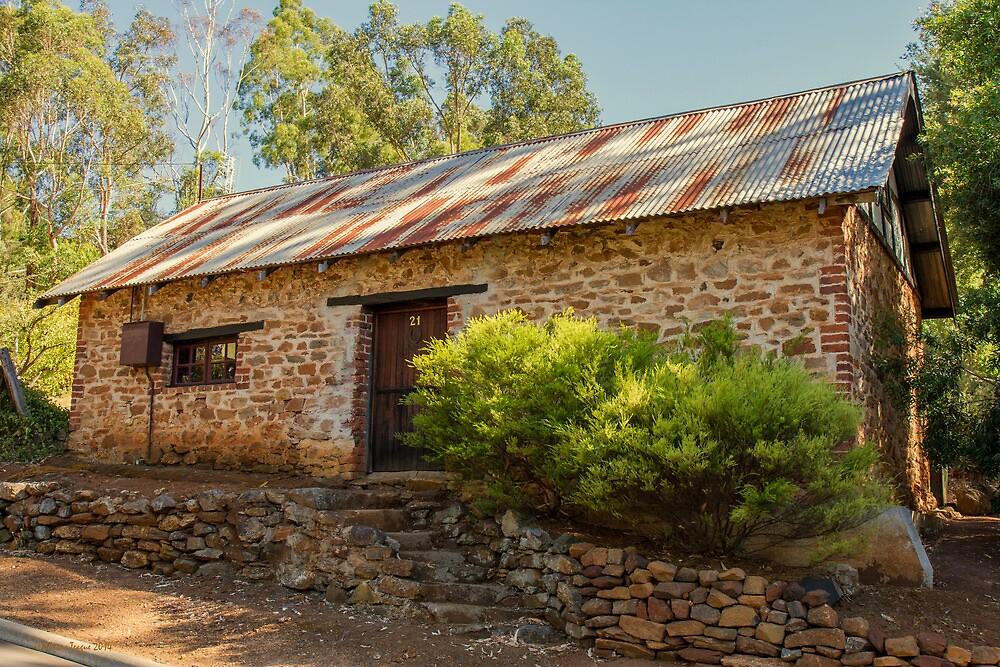 Old Stone Cottage, Grey's Hill, Bridgetown, W.A. #2 by Elaine Teague