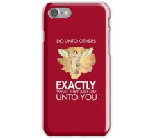 Twitch Plays Pokemon: Do Unto Others - iPhone/Galaxy Case Red iPhone Case/Skin