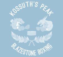 Kossuth Peak Blazestone Boxing Kids Tee