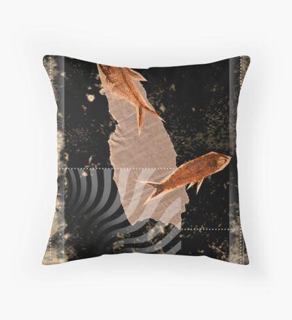 fluid dynamics Throw Pillow