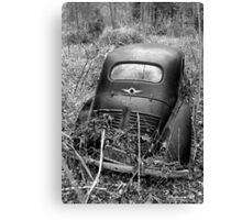 The Old Renault Canvas Print