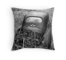 The Old Renault Throw Pillow