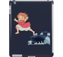 Ponyo storm sea leap  iPad Case/Skin