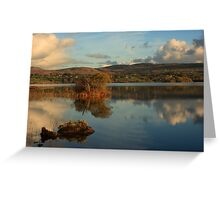 Lough Eske Light Greeting Card