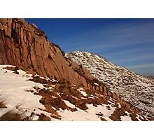 Craggy Croaghnageeer Photographic Print