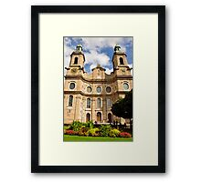 Innsbruck Cathedral Facade Framed Print