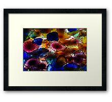 Sea Flowers and Mermaid Gardens - Take 2 - Horizontal Framed Print