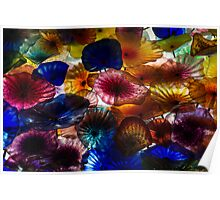 Sea Flowers and Mermaid Gardens - Take 2 - Horizontal Poster