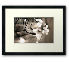 Pure White Framed Print