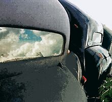 car : Reflection of life before! ... 1974 collector 5  (c)(t) by Olao-Olavia / Okaio Créations by Okaio - caillaud olivier