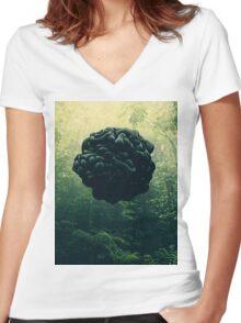 Blacks Women's Fitted V-Neck T-Shirt