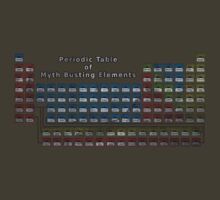 Periodic Table of Myth Busting Elements by darqenator