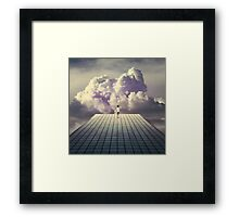 Breaker daydreams Framed Print