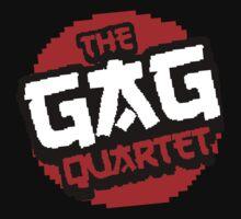 8-Bit GAG Quartet Logo Kids Tee