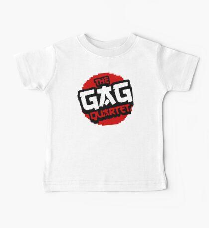 8-Bit GAG Quartet Logo Baby Tee