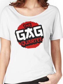 8-Bit GAG Quartet Logo Women's Relaxed Fit T-Shirt