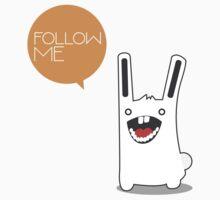 Follow The White Rabbit T-Shirt