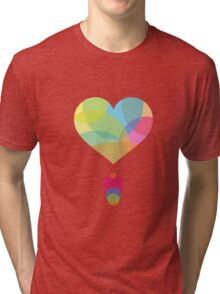 Colors of a Heart Tri-blend T-Shirt