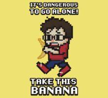 Take This Banana  One Piece - Short Sleeve