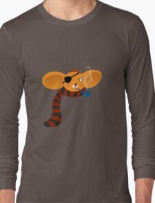 Smoking Koala Long Sleeve T-Shirt