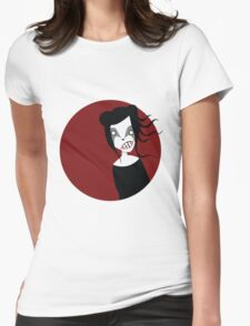 UNDER THE RED MOON Womens Fitted T-Shirt