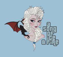 Elsa & Daenerys Mashup  by strangebird2014