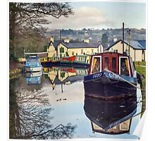 The Monmouthshire and Brecon Canal Poster