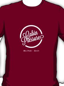 Cabin Pressure Abu Dhabi - Zurich T-Shirt