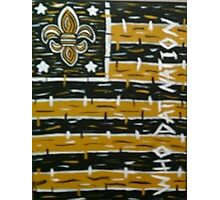 FOOTBALL New Orleans Who Dat Nation Photographic Print