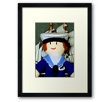 Knitted Dolls Fun 1 Framed Print