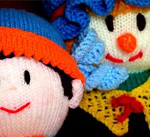 Knitted Dolls Fun 3 by Renata Lombard