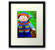 Knitted Dolls Fun 5 Framed Print