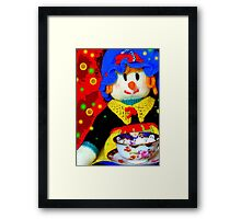 Knitted Dolls Fun 6 Framed Print