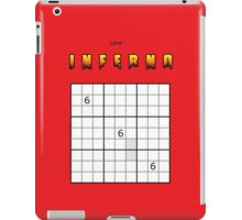 Sudoku inferno iPad Case/Skin