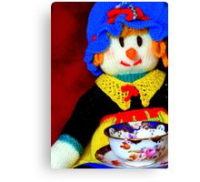 Knitted Dolls Fun 10 Canvas Print