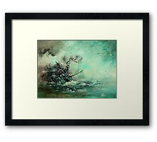 A Prophecy Unheeded Framed Print