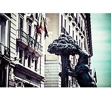 Symbol of Madrid Photographic Print