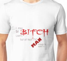 Loves Bitch - Spike Quote Unisex T-Shirt